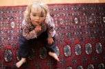 young-girl-on-red-mat
