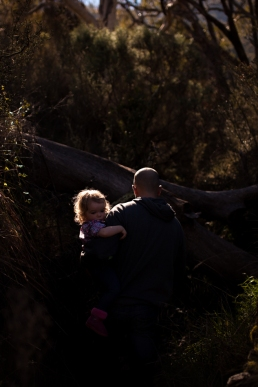 father-and-daughter-exploring-a-ravine